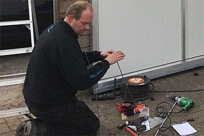 Snackbar Gerrit Bosma: vervangen van een schuifdeur.