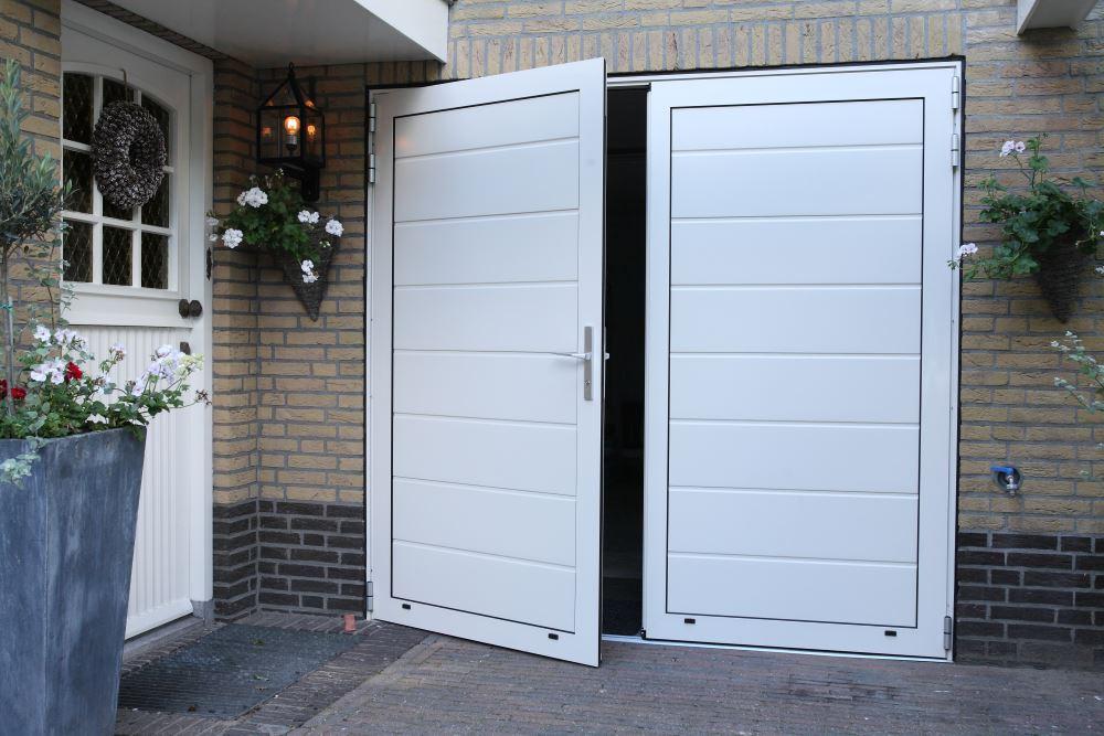 openslaande garagedeuren van in2doors